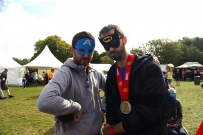 Cian & Ricardo Superhero style